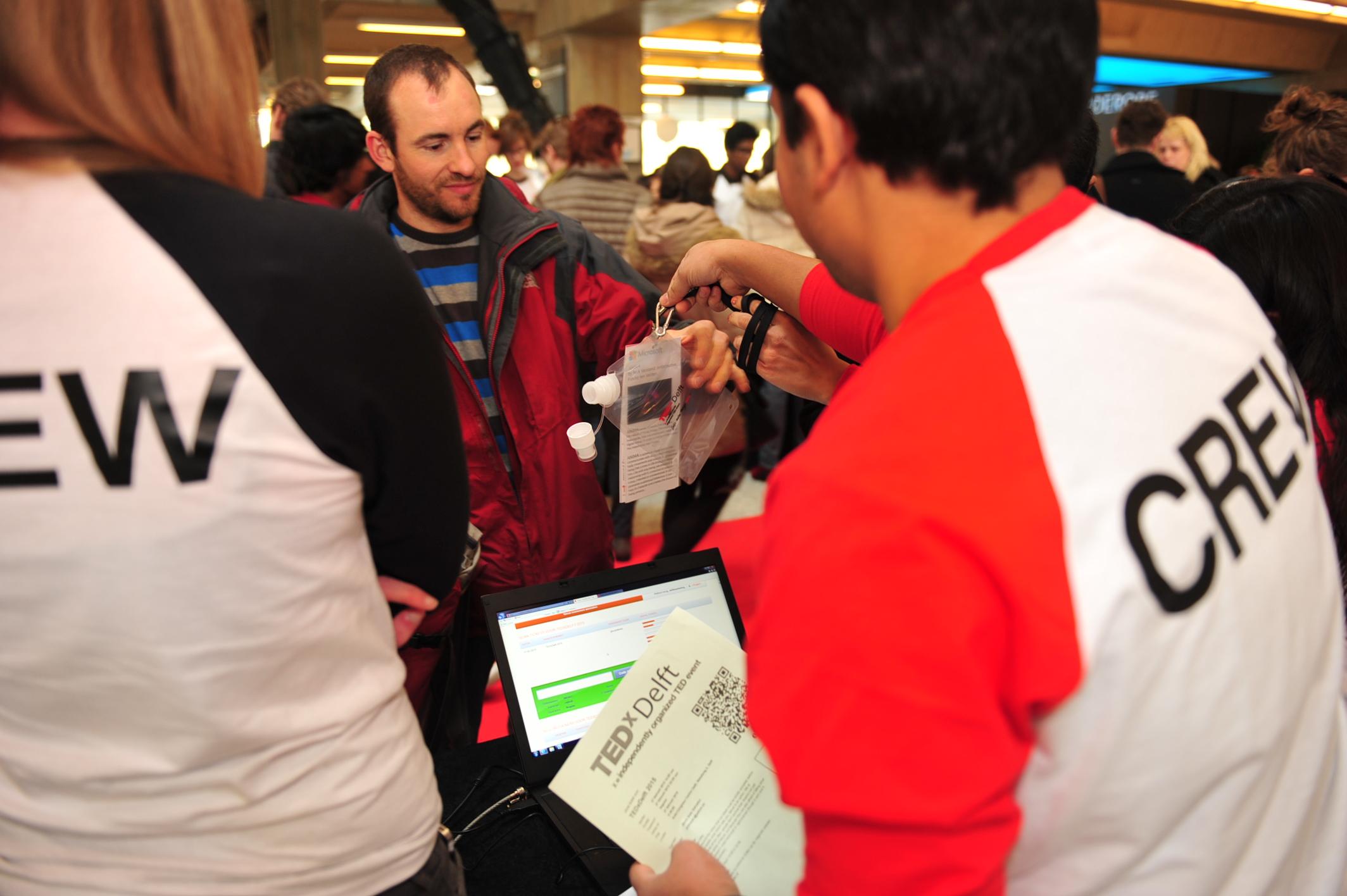 TEDxDelft 2015 bezoekers