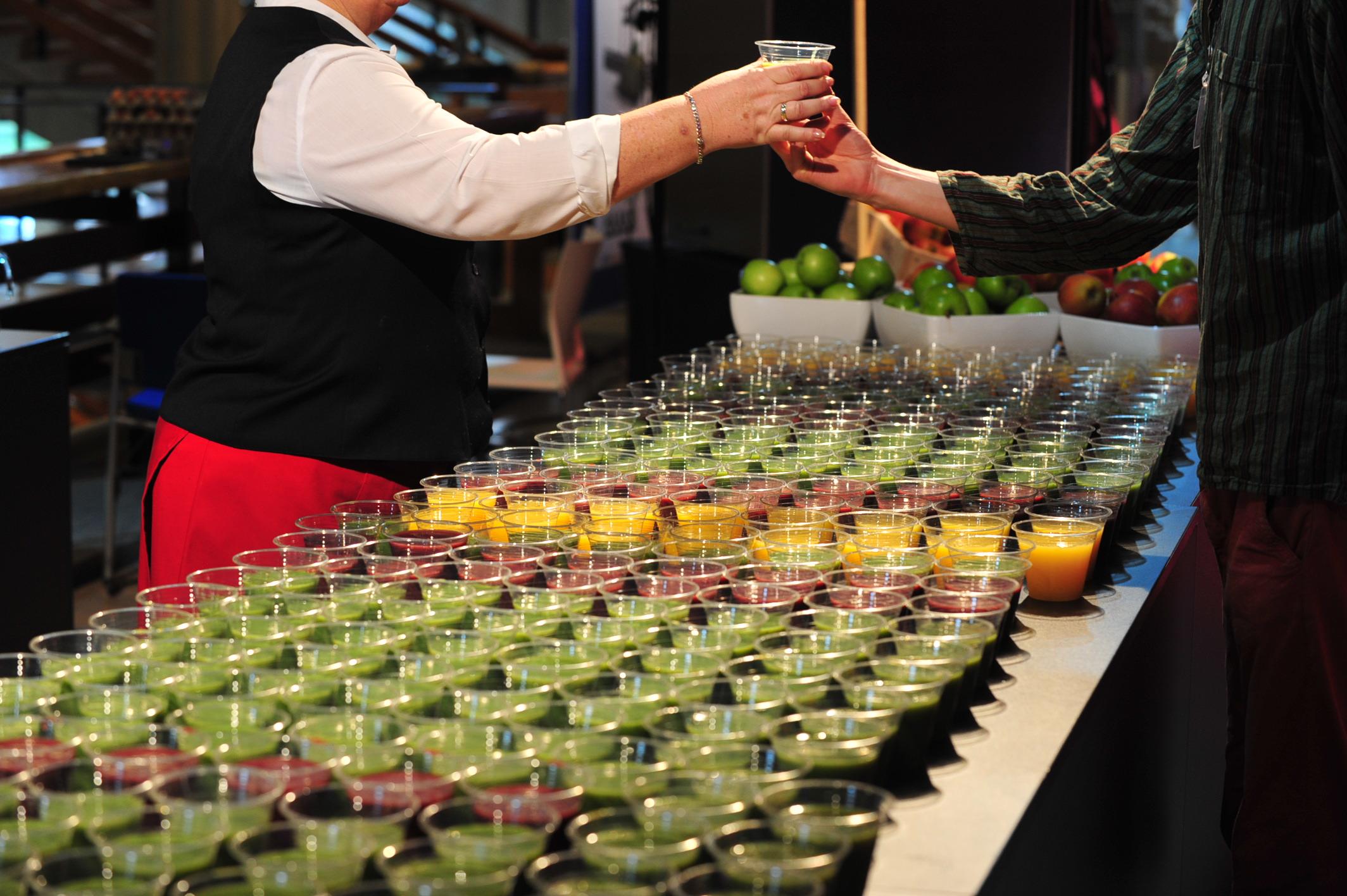 TEDxDelft 2015 gezonde sapjes