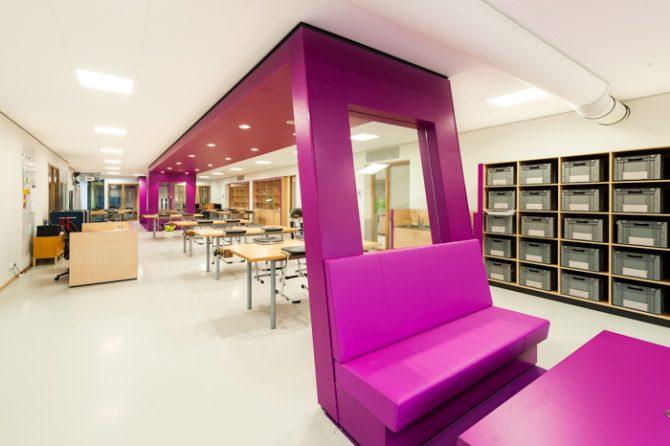 Muisstille klaslokalen in Assen