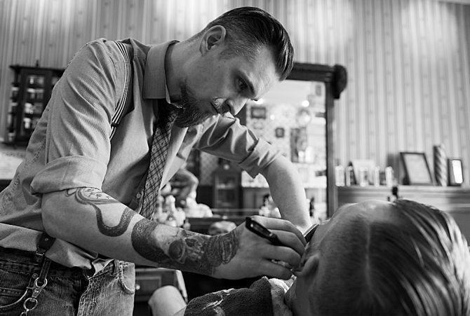 De barbier van Delft