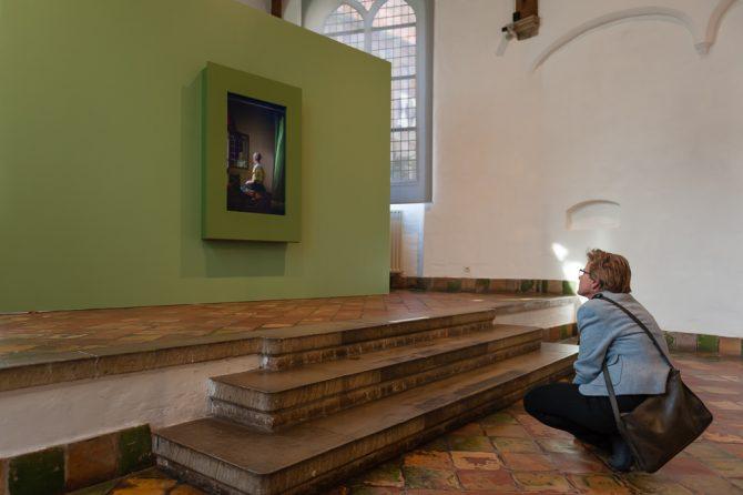 Framing Vermeer: Droste-effect in museum Prinsenhof