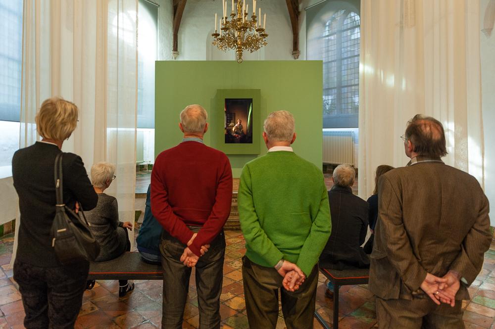 kunstwerk Framing Vermeer